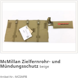 McMillan Scope and Muzzle Protector