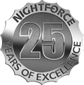 Nightforce 25th anniversary