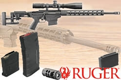 Top: Ruger Precision Rifle