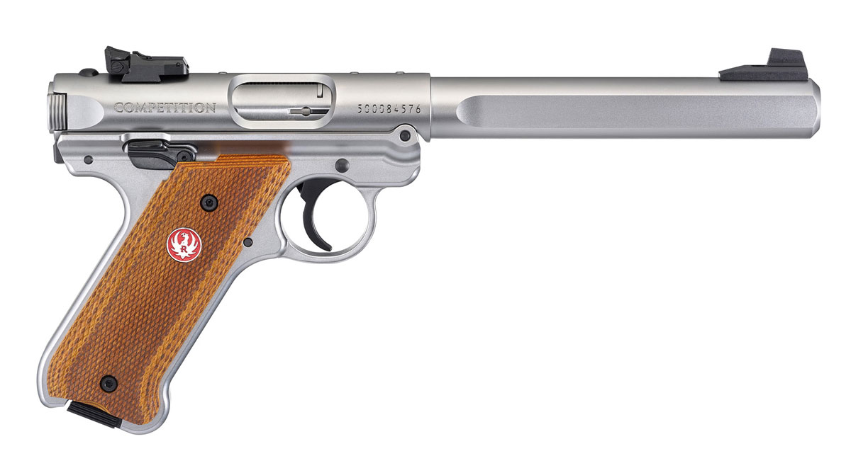 Ruger Mark IV Competition .22lfB.