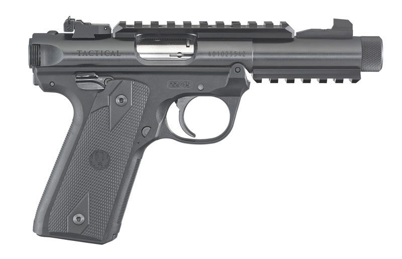 Ruger Mark IV 22/45 Tactical .22 lfB.