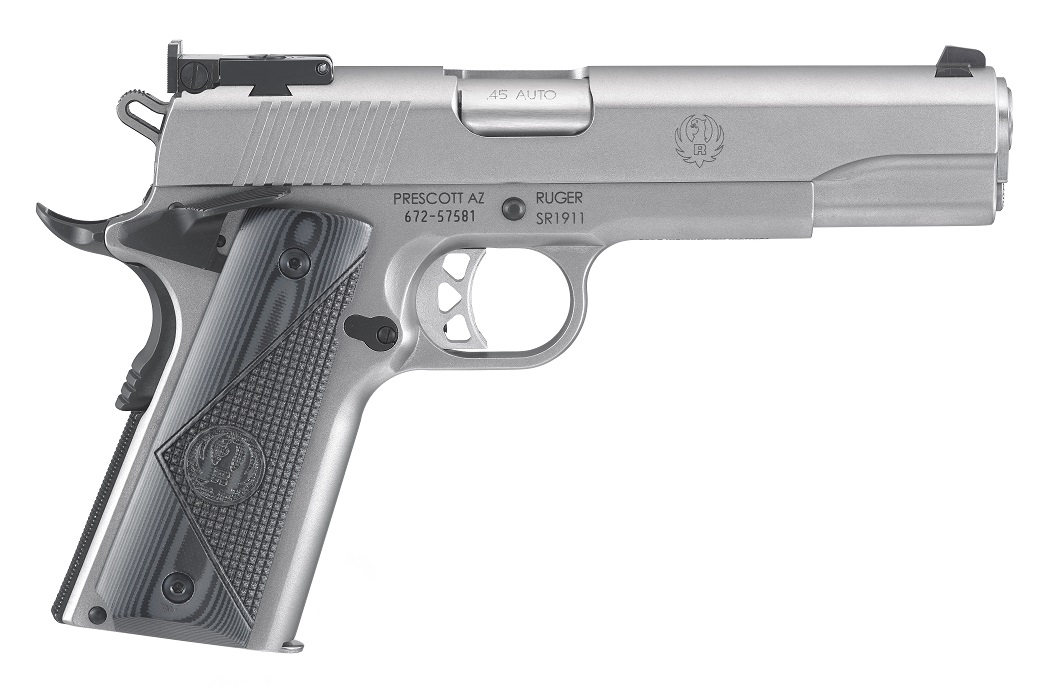 Ruger SR1911 Target Pistole .45 ACP, stainless